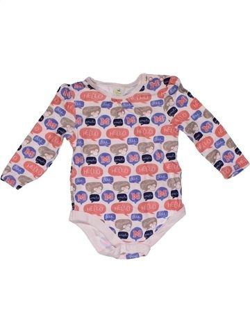 Short jumpsuit girl DISNEY BABY beige 9 months summer #26912_1