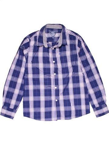 Long sleeve shirt boy REBEL blue 13 years winter #27214_1