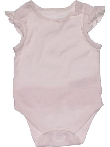 Short jumpsuit girl M&S white 3 months summer #27376_1
