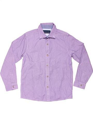 Long sleeve shirt boy NEXT pink 8 years summer #2744_1