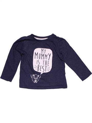 Long sleeve T-shirt unisex PRIMARK blue 2 years winter #27452_1