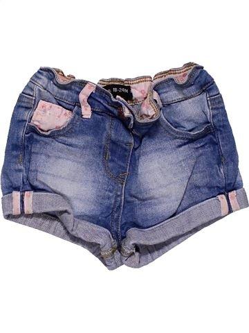 Short pants girl PRIMARK blue 2 years summer #27472_1