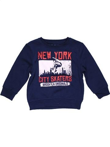 Sweatshirt boy PRIMARK blue 5 years winter #27511_1