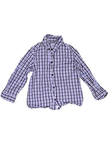 Long sleeve shirt boy PRIMARK purple 4 years winter #27527_1