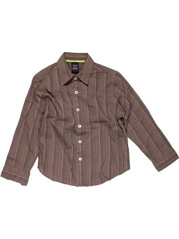 Long sleeve shirt boy NEXT purple 5 years winter #27548_1