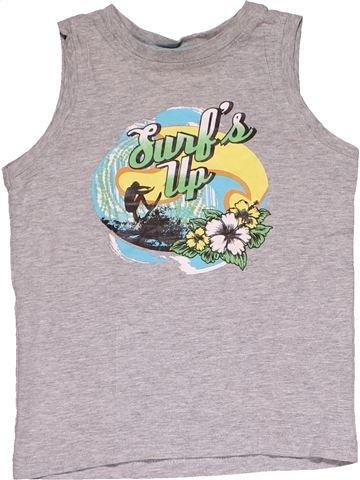 Sleeveless T-shirt boy NO BRAND gray 6 years summer #27645_1