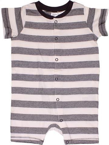 Short jumpsuit boy H&M white 9 months summer #27714_1