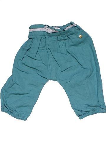 Trouser girl M&S blue 6 months winter #27730_1