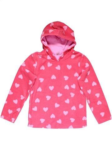 Sweatshirt girl TU pink 10 years winter #27732_1