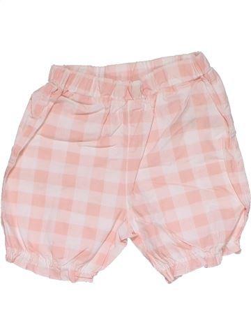 Short pants girl M&CO pink 3 months summer #27767_1