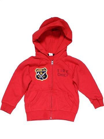 Sweatshirt boy BABY GAP red 3 years winter #27839_1