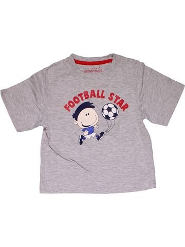 Short sleeve T-shirt boy PRIMARK gray 5 years summer #27840_1