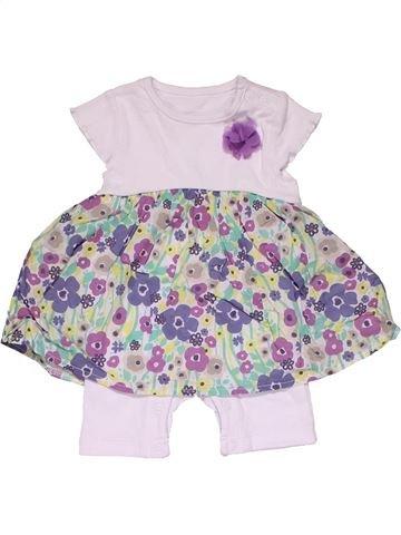 Short jumpsuit girl NUTMEG white new born summer #27848_1
