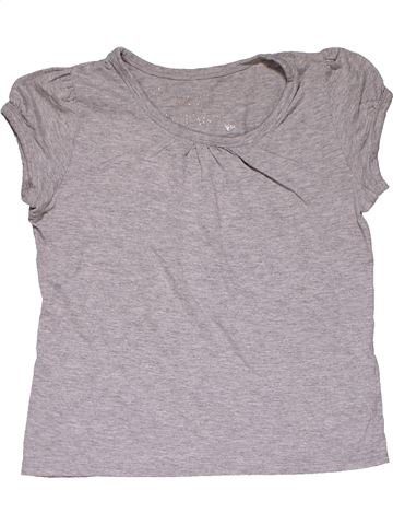 Short sleeve blouse girl NO BRAND gray 11 years summer #27866_1