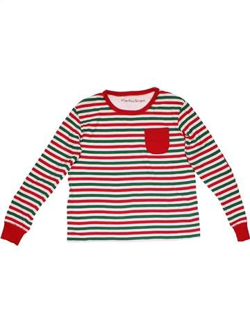 Long sleeve T-shirt girl MATALAN red 11 years winter #27909_1