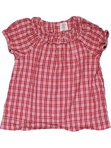 Short sleeve blouse girl H&M pink 4 years summer #27944_1