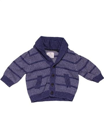 Sweatshirt boy NEXT purple 3 months summer #28021_1