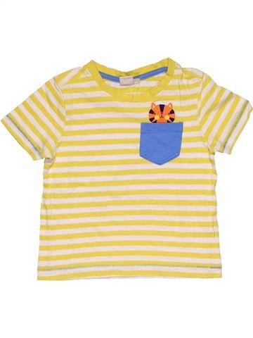 Short sleeve T-shirt girl MINI CLUB beige 3 years summer #28064_1