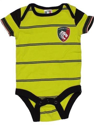 Short jumpsuit boy LEICESTER TIGERS green 6 months summer #28158_1