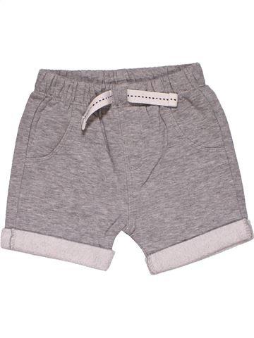 Short pants boy NUTMEG gray 9 months summer #28166_1