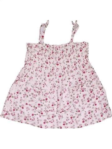 Dress girl CHEROKEE white 2 years summer #28183_1