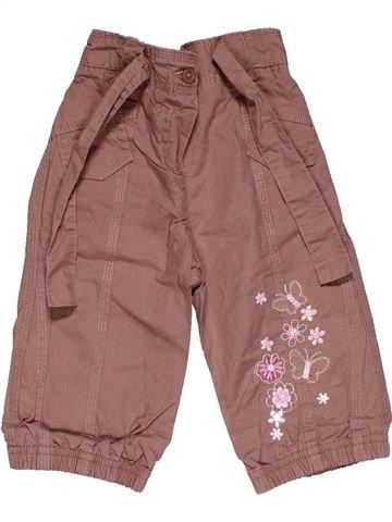Trouser girl MARKS & SPENCER purple 12 months summer #28192_1