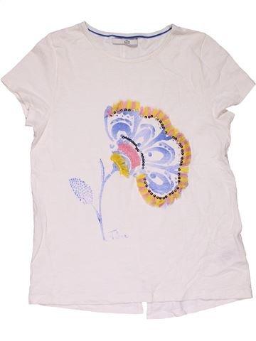 Short sleeve T-shirt girl MARKS & SPENCER white 13 years summer #28212_1