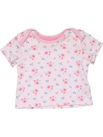 Short sleeve T-shirt girl EARLY DAYS pink 6 months summer #28239_1