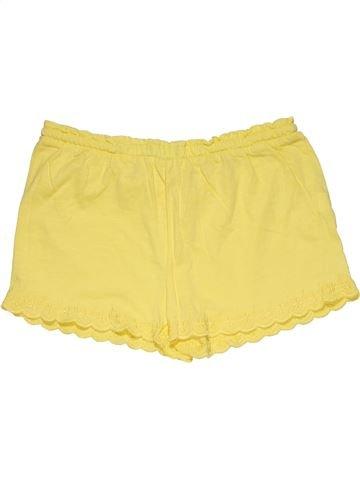 Short pants girl ZARA yellow 12 years summer #28281_1