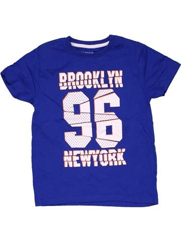 Short sleeve T-shirt boy PRIMARK purple 6 years summer #28284_1