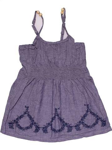 Dress girl NO BRAND purple 9 months summer #28303_1