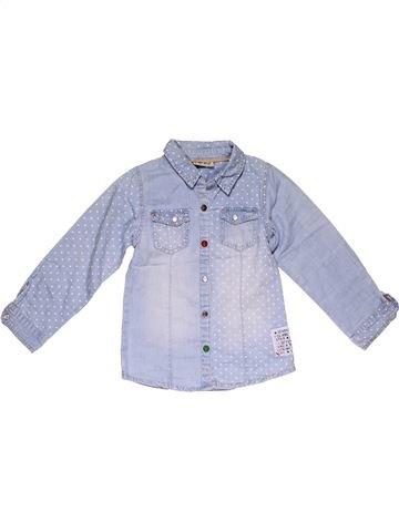 Long sleeve shirt girl NEXT blue 5 years summer #28409_1