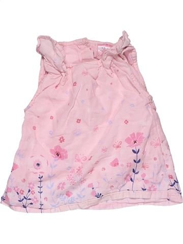 Dress girl EARLY DAYS pink 9 months summer #28418_1
