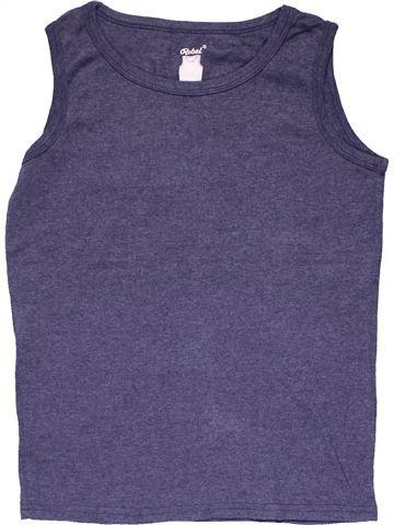 Sleeveless T-shirt boy REBEL blue 12 years summer #28479_1