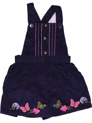 Short jumpsuit girl NUTMEG black 9 months summer #28642_1