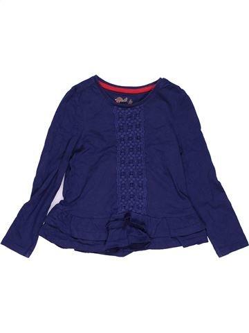 Long sleeve blouse girl TU blue 4 years summer #28670_1