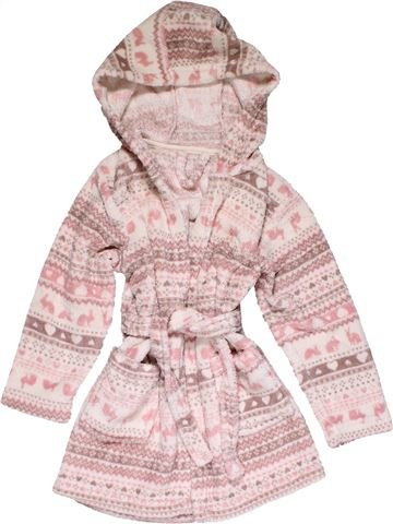 Dressing gown girl MATALAN purple 5 years winter #28907_1