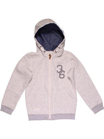 Sweatshirt boy H&M white 8 years winter #28913_1