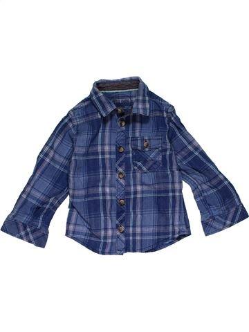 Long sleeve shirt boy MATALAN blue 3 years winter #28971_1