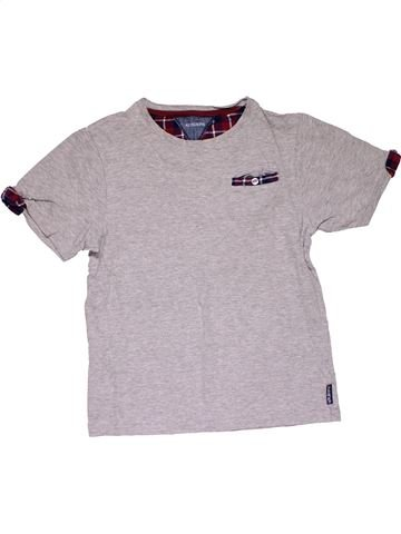 Short sleeve T-shirt boy MARKS & SPENCER gray 12 years summer #29122_1