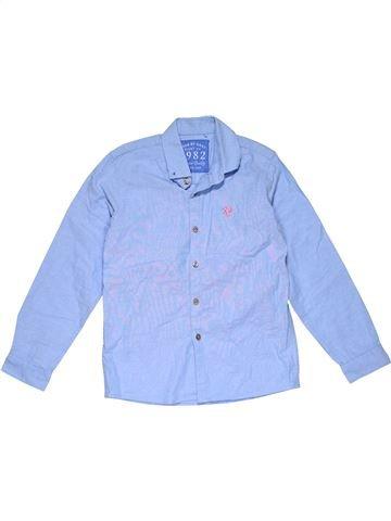 Long sleeve shirt boy NEXT blue 9 years winter #29199_1