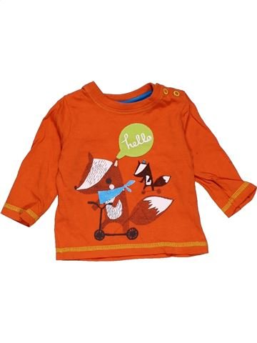 Long sleeve blouse boy MINI CLUB orange 3 months winter #29238_1