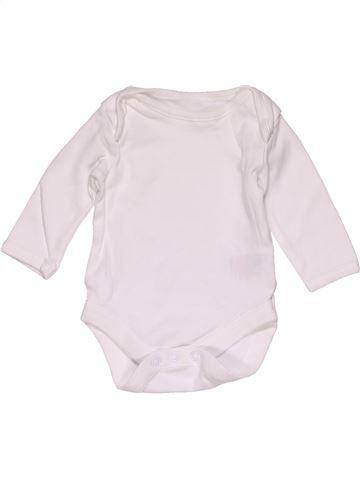 Long jumpsuit unisex MINIMAN white 1 month winter #29253_1