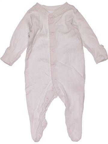 Long jumpsuit unisex MINI CLUB white 1 month winter #29280_1