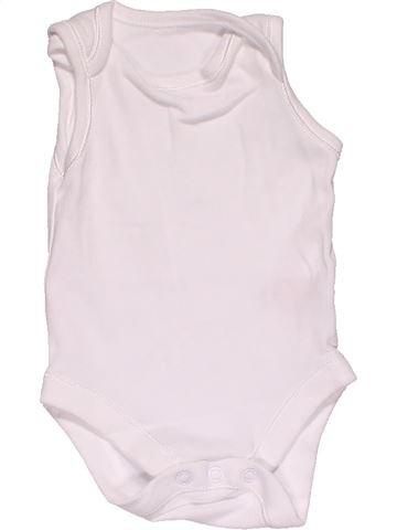 Short jumpsuit unisex MOTHERCARE white 1 month summer #29297_1