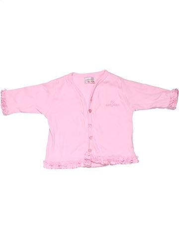 Long sleeve polo shirt girl EARLY DAYS white 3 months winter #292_1