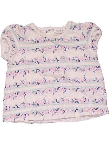 Short sleeve T-shirt girl NEXT white 6 months summer #29329_1