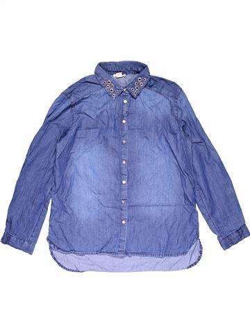 Long sleeve blouse girl RIVER ISLAND purple 12 years winter #29461_1