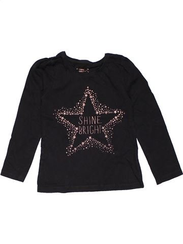 Long sleeve T-shirt girl YOUNG DIMENSION black 5 years summer #29482_1