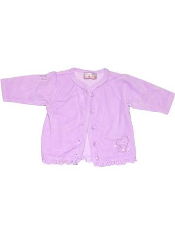Long sleeve polo shirt girl EARLY DAYS pink 3 months winter #294_1